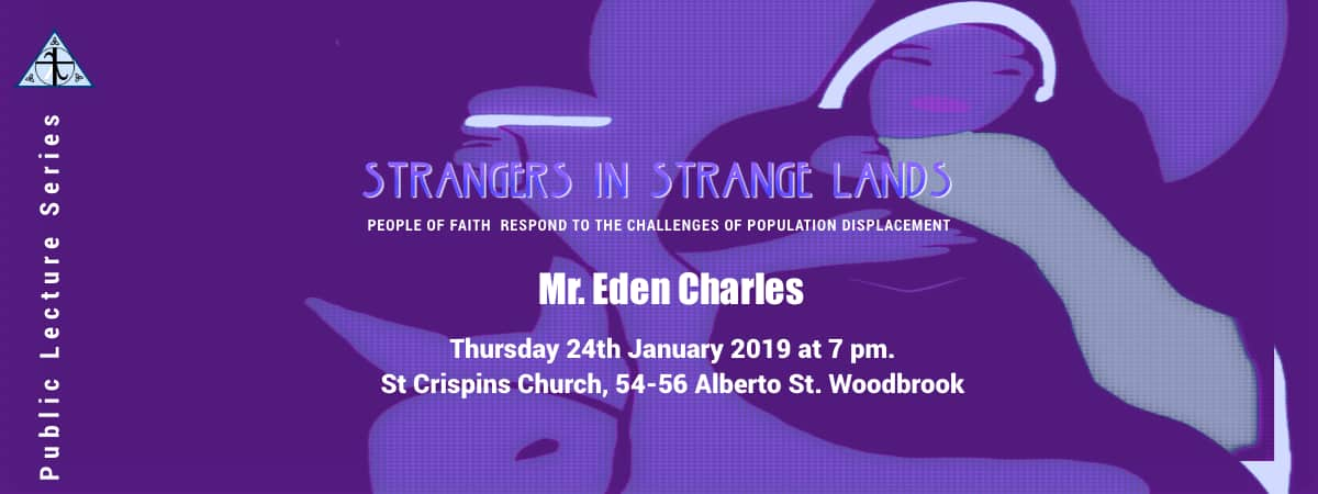 Strangers in a Strange Land - Public Lecturue on migration
